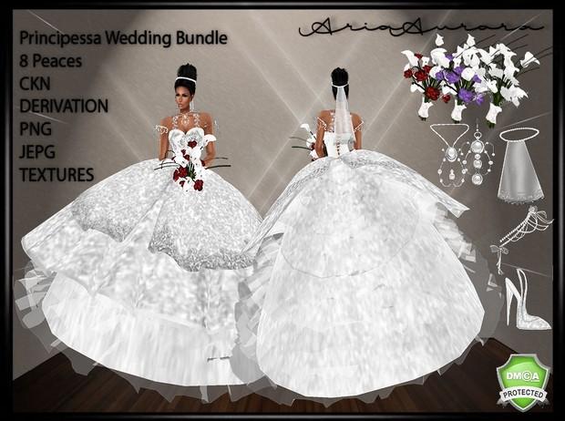 Principessa Wedding Bundle,NO Resell!!