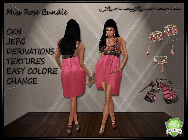 Miss Rose Bundle, Resell Right!!