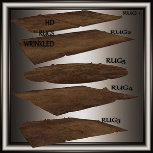 HD 5 Rugs NO Resell on this Files!!!