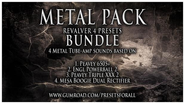 METAL PACK Presets BUNDLE   ReValver 4