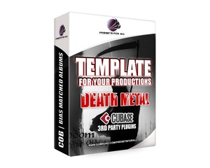 Template For Your Productions - DEATH METAL (Cubase Version)
