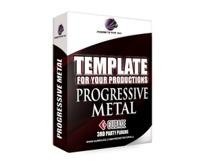 Template For Your Productions - PROGRESSIVE METAL (Cubase Version)