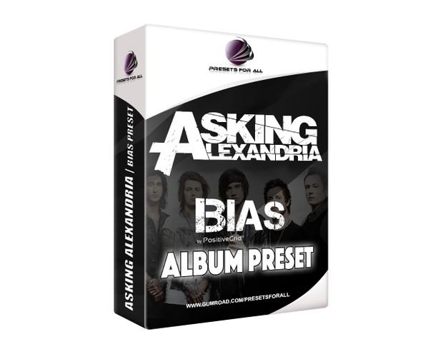 Asking Alexandria BIAS DESKTOP Album Preset PACK