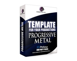 Template For Your Productions - PROGRESSIVE METAL (Studio One Version)