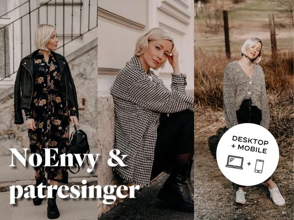 THISISNOENVY x PATRESINGER - Presets - Desktop & mobile