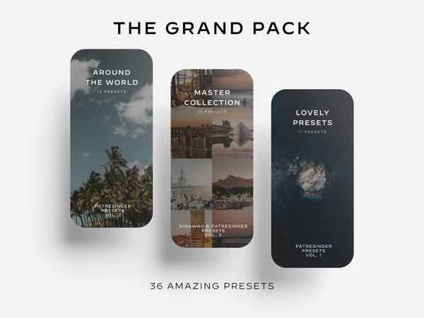 The Grand Pack - Vol. 1 - 3