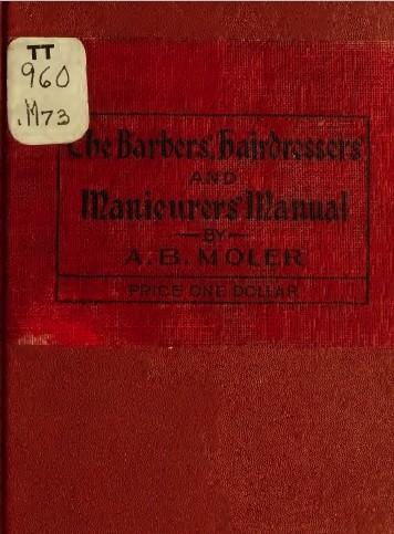 The Barbers Manual -TotalBarber Vintage Books