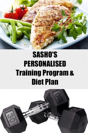 SASHO'S PERSONALISED Training Program & Diet Plan