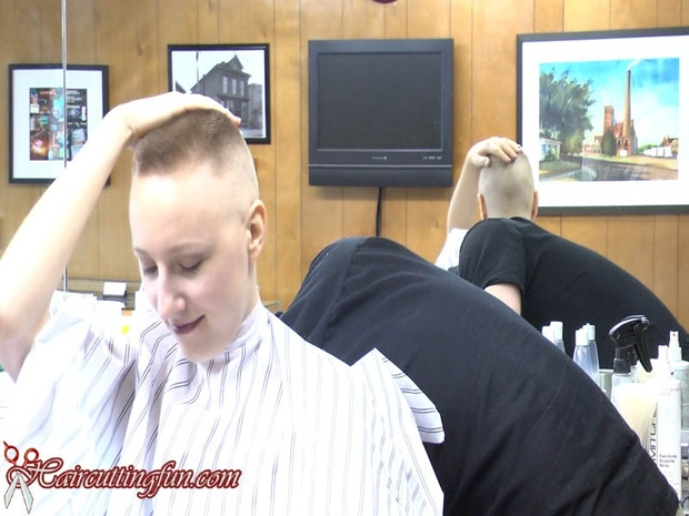Calley's Barbershop Flat Top and Head Shave VOD - video on demand download