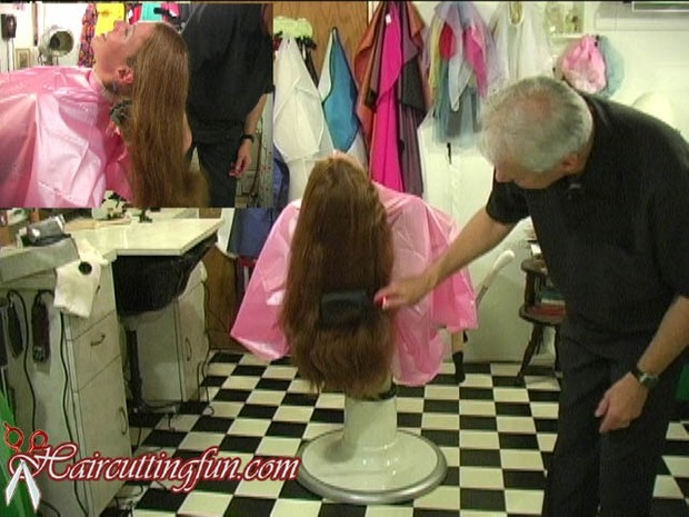 Bri's Long Hair to Brush Cut Haircut - VOD Digital Video on Demand