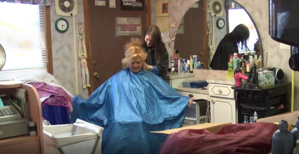 Jennifer and Kat Caping in a Hair Salon - VOD Digital Video on Demand