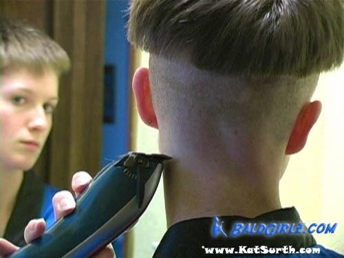 Ms Richies Funky Punky Haircut And Chili Bowl Haircut