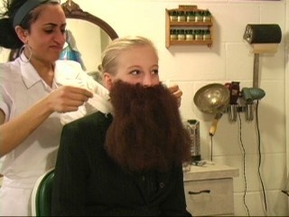 Anne M's Beard and Face Shave - VOD Digital Video on Demand