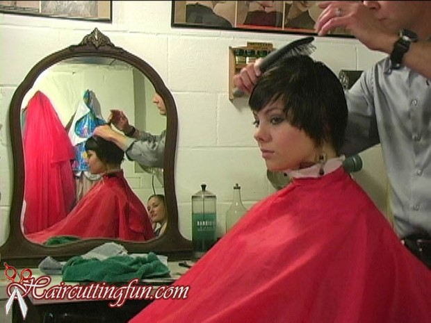 Amanda Love Punky Pixie Haircut VOD - video on demand download