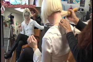 Nape Clippering Buzz of Kat by Carmen in Salon - VOD Digital Video on Demand