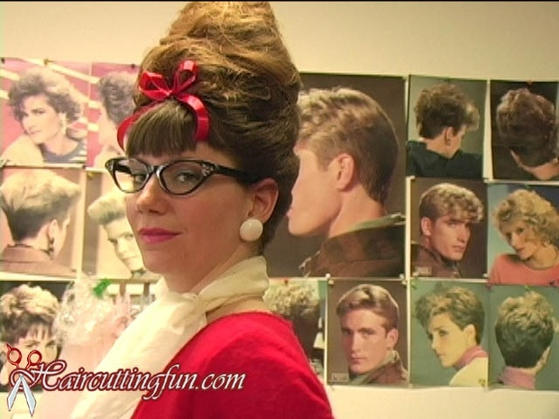 Celia Cyanide's Real Perm, Roller Set, and Beehive - VOD Digitial Video on Demand