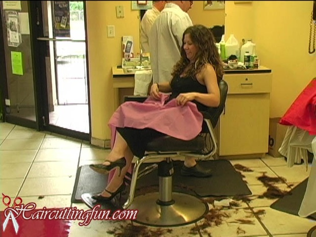 Danielle's Bob Haircut at the Too Hot for Hair Show - VOD Digital Video on Demand