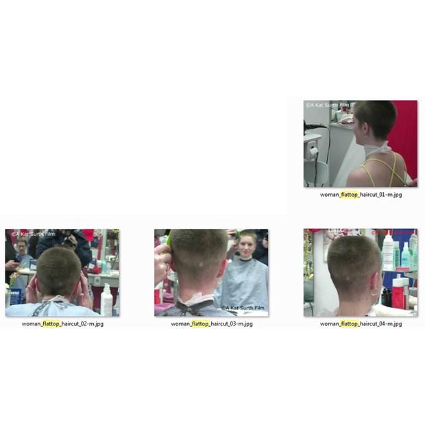Kat's Flat Top Haircut at Great Clips
