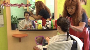 Kat's Blonde to Brunette Haircoloring at Carmen's - VOD Digital Video on Demand