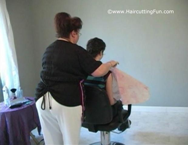 Nicole Business Man's Haircut aka Hair Spell for Love - VOD Digital Video on Demand
