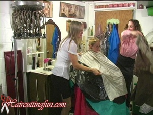Caped Women Going Wild - Gals trying on lots of Capes - VOD Digital Video on Demand