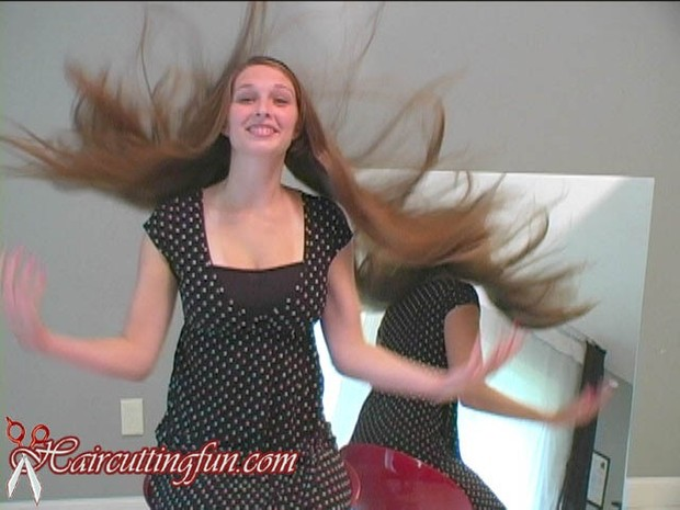 Women's Long Hair Play VOD - Digital Video on Demand