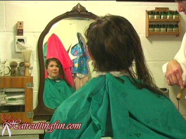Paula's Pixie Long to Short Haircut - VOD Digital Video on Demand Download