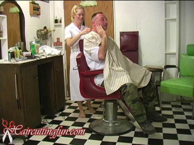 Barberette Barber Face and Eyebrow Shaving - VOD Digital Video on Demand