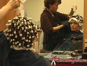 Christina's Spiral Perm - VOD Digital Video on Demand
