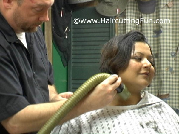 Tinkai's Barbershop Bob Haircut - VOD Digital Video on Demand