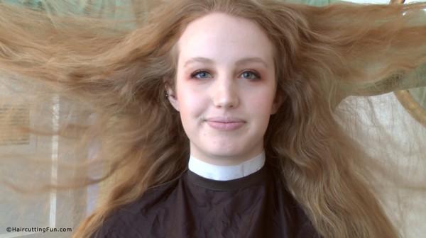 Lisa's Long Hair to Chin Length Bob Haircut Transformation VOD Digital Video