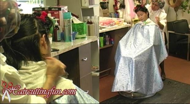 Severe Changes Complete - Roller Set and Head Shaving
