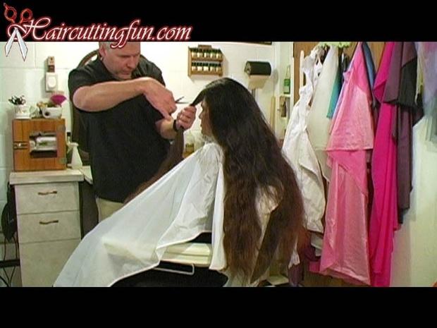 Angel's Bowl Cut Haircut