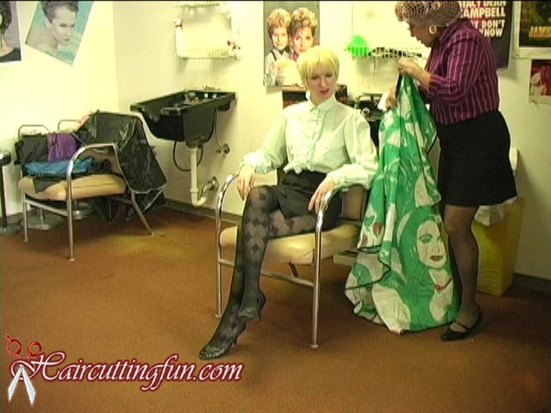 Kat's Perm and Orange Haircoloring at Beauty Salon - VOD Digital Video on Demand