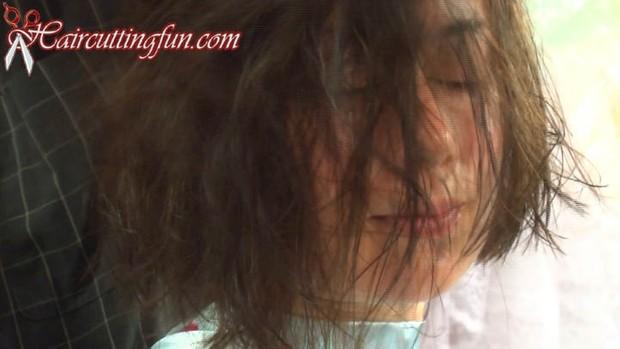 Stacis' Asymmetrical Bob Haircut - VOD Digital Video on Demand