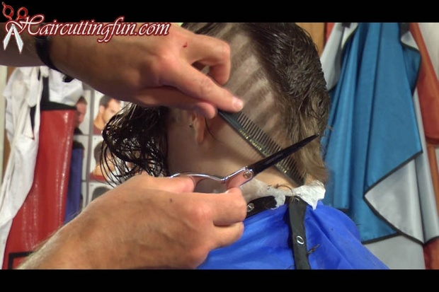 Maia's Asymmetrical Bob with Clippered Pattern Side - VOD Digital Video on Demand