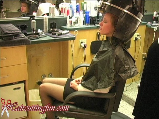 Kate's Hair Singeing Trim with Candle Flame - VOD Digital Video on Demand