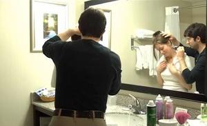 Couple's Nape Shaving - VOD Digital Video on Demand