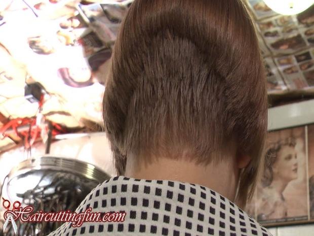 Skye Noelle's Inverted Bob Haircut - VOD Digital Video on Demand Download