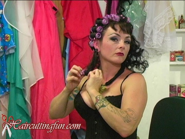 Mistress Bee's Dryer Time and Roller Takeout - VOD Digital Video on Demand
