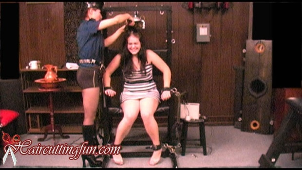 Escape - Prison Headshaving Movie - aka Helen's Head Shave - VOD Digital Video on Demand