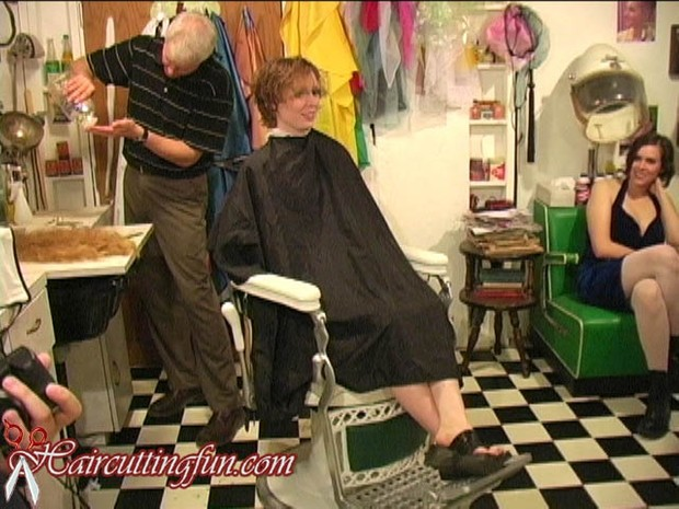 Brittany's Shag Haircut - Long to Short Hair - VOD Digital Video on Demand