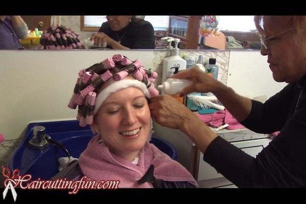 Kat S Spiral Perm And Roller Set Haircuttingfun Com