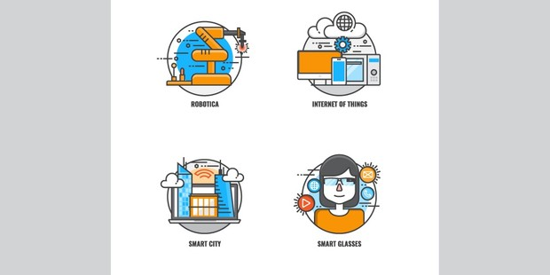 Here comes the future in 20 icons!