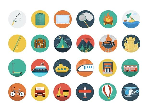 146 Premium Flat Icons