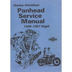 HARLEY-DAVIDSON-PANHEAD-RIGID-O.H.V TWIN MODELS-(1948-1957)-SERVICE MANUAL