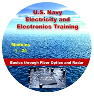 All 24 volumes of the US Navy Electricity and Electronics Training Series