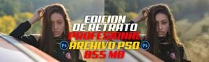EDICION DE RETRATO PROFESIONAL EN PHOTOSHOP [1 ARCHIVO PSD DE 855MB]