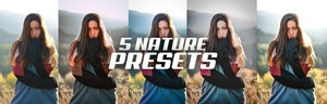 5 AMAZING NATURE PRESETS PARA LIGHTROOM