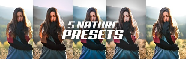 5 AMAZING NATURE PRESETS PARA LIGHTROOM